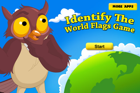 iPhone/iPad Game World Flags Game For Kids